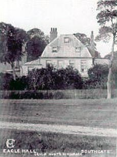 Old photo of Eagle Hall in Southgate,England